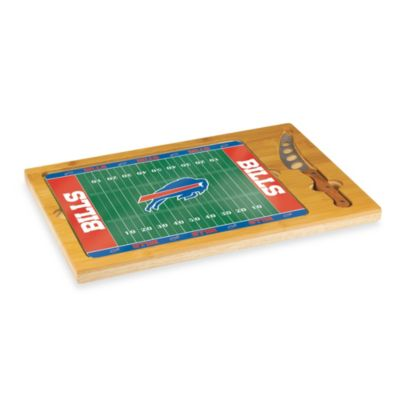 Picnic Time® NFL Buffalo Bills Icon Wood Cutting Board Set