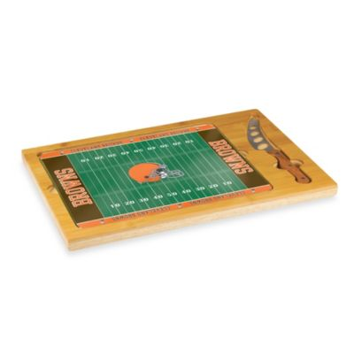 Picnic Time® NFL Cleveland Browns Icon Wood Cutting Board Set