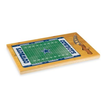 Picnic Time® NFL Dallas Cowboys Icon Wood Cutting Board Set