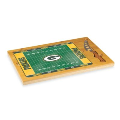 Picnic Time® NFL Green Bay Packers Icon Wood Cutting Board Set