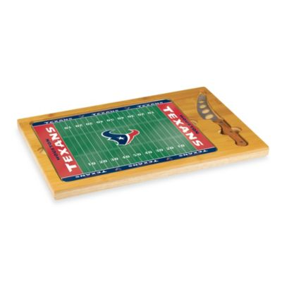 Picnic Time® NFL Houston Texans Icon Wood Cutting Board Set