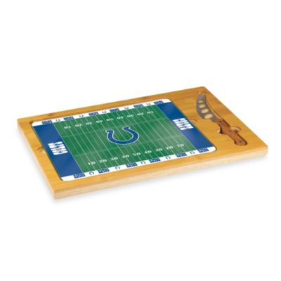 Picnic Time® NFL Indianapolis Colts Icon Wood Cutting Board Set