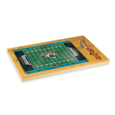 Picnic Time® NFL Jacksonville Jaguars Icon Wood Cutting Board Set