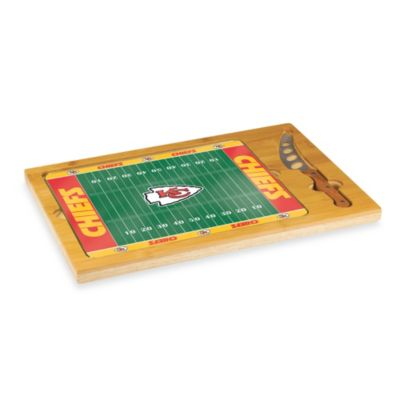Picnic Time® NFL Kansas City Chiefs Icon Wood Cutting Board Set