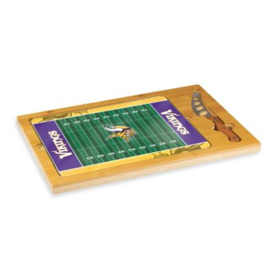 Picnic Time® NFL Minnesota Vikings Icon Wood Cutting Board Set