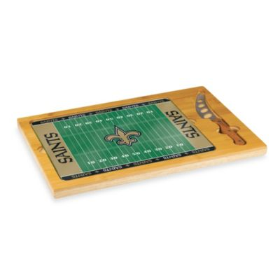 Picnic Time® NFL New Orleans Saints Icon Wood Cutting Board Set