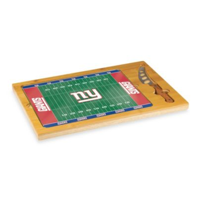 Picnic Time® NFL New York Giants Icon Wood Cutting Board Set