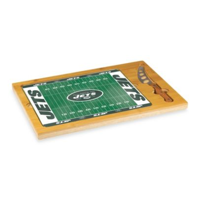 Picnic Time® NFL New York Jets Icon Wood Cutting Board Set