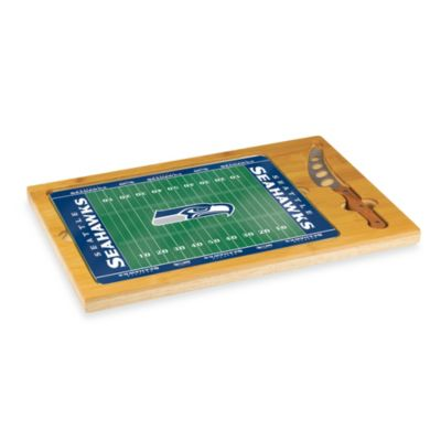 Picnic Time® NFL Seattle Seahawks Icon Wood Cutting Board Set