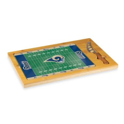 Picnic Time® St. Louis Rams NFL Icon Wood Cutting Board Set