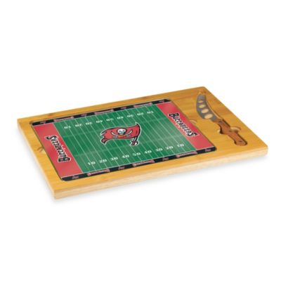 Picnic Time® NFL Tampa Bay Icon Wood Cutting Board Set