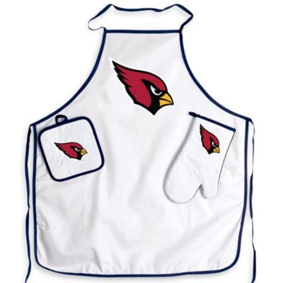 NFL Arizona Cardinals Apron and BBQ Set