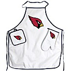 Arizona Cardinals Apron and BBQ Set