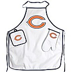 Chicago Bears Apron and BBQ Set