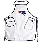 New England Patriots Apron and BBQ Set
