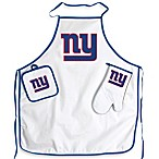 New York Giants Apron and BBQ Set