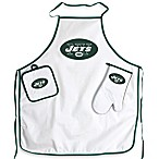 New York Jets Apron and BBQ Set