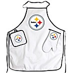 Pittsburgh Steelers Apron and BBQ Set