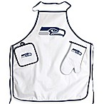 Seattle Seahawks Apron and BBQ Set
