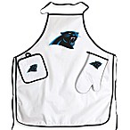Carolina Panthers Apron and BBQ Set
