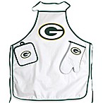 Green Bay Packers Apron and BBQ Set