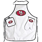 San Francisco 49ers Apron and BBQ Set