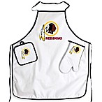 Washington Redskins Apron and BBQ Set