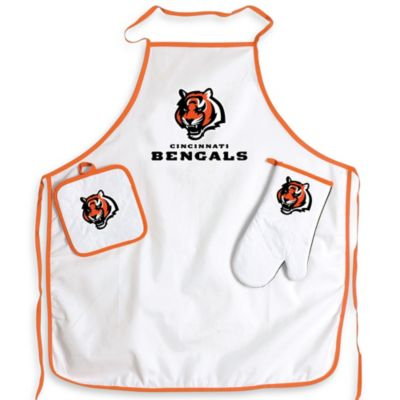 NFL Cincinnati Bengals Apron and BBQ Set