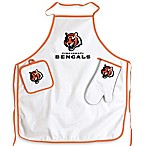 Cincinnati Bengals Apron and BBQ Set
