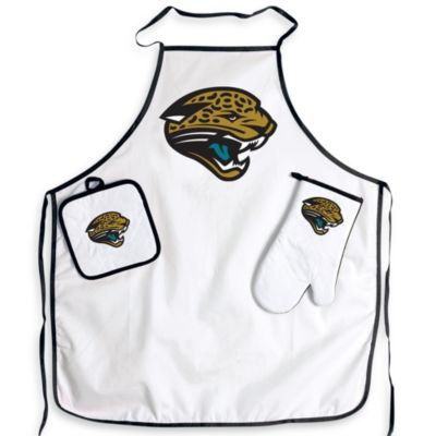 NFL Jacksonville Jaguars Apron and BBQ Set
