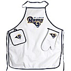 St.Louis Rams Apron and BBQ Set