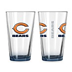 Chicago Bears 16-Ounce Elite Pint Beverage Glass (1 Glass)