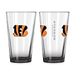 Cincinnati Bengals 16-Ounce Elite Pint Beverage Glass (1 Glass)