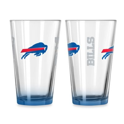 Buffalo Bills 16-Ounce Elite Pint Beverage Glass (1 Glass)