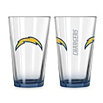 San Diego Chargers 16-Ounce Elite Pint Beverage Glass (1 Glass)