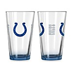 Indianapolis Colts 16-Ounce Elite Pint Beverage Glass (1 Glass)