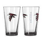 Atlanta Falcons 16-Ounce Elite Pint Beverage Glass (1 Glass)