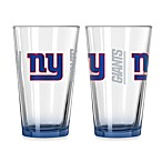 New York Giants 16-Ounce Elite Pint Beverage Glass