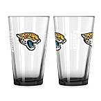 Jacksonville Jaguars 16-Ounce Elite Pint Beverage Glass (1 Glass)