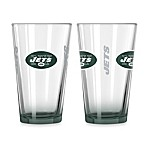New York Jets 16-Ounce Elite Pint Beverage Glass