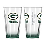 Green Bay Packers 16-Ounce Elite Pint Beverage Glass (1 Glass)