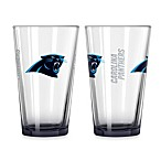 Carolina Panthers 16-Ounce Elite Pint Beverage Glass (1 Glass)