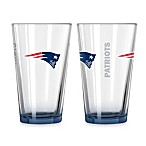 New England Patriots 16-Ounce Elite Pint Beverage Glass
