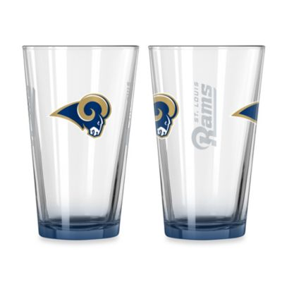 St. Louis Rams 16-Ounce Elite Pint Beverage Glass