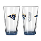 St. Louis Rams 16-Ounce Elite Pint Beverage Glass (1 Glass)