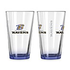 Baltimore Ravens 16-Ounce Elite Pint Beverage Glass (1 Glass)