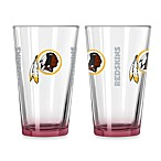 Washington Redskins 16-Ounce Elite Pint Beverage Glass (1 Glass)