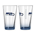 Seattle Seahawks 16-Ounce Elite Pint Beverage Glass (1 Glass)