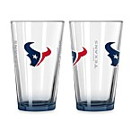 Houston Texans 16-Ounce Elite Pint Beverage Glass (1 Glass)