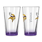 Minnesota Vikings 16-Ounce Elite Pint Beverage Glass
